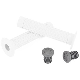 CULT Vans Waffle BMX Grips with Flange by ODI, white